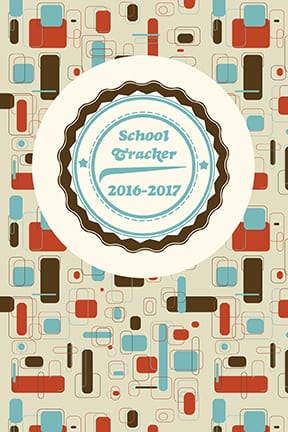 Free School Tracker files from CocoPolka - fits in our 4x6 photo albums