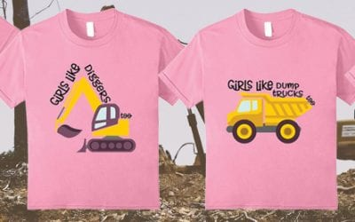 New T-Shirts: Girls Like Construction Too!