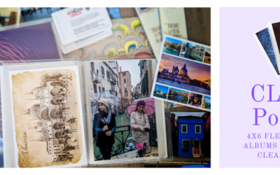 New Product – CLEAR 4×6 Photo Albums!
